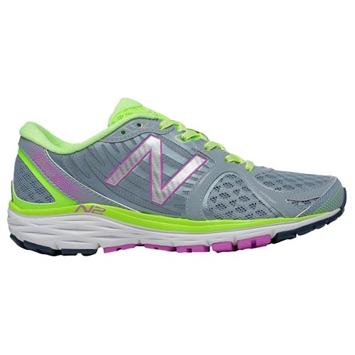 Womens New Balance 1260v5 Running Shoe - Yellow/Grey 7