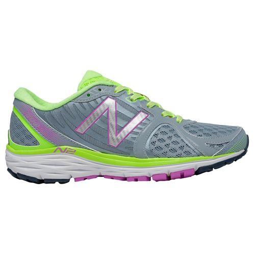 Womens New Balance 1260v5 Running Shoe - Yellow/Grey 9.5