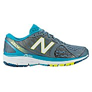 Womens New Balance 1260v5 Running Shoe - Silver/Blue 6