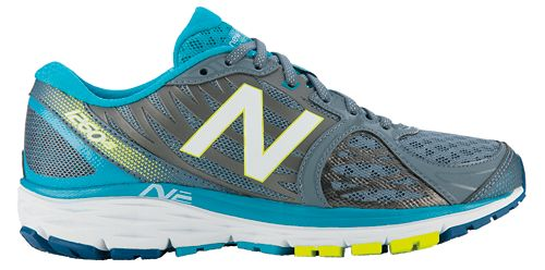 Womens New Balance 1260v5 Running Shoe - Silver/Blue 6.5