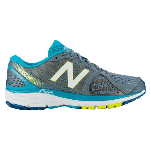 Womens New Balance 1260v5 Running Shoe - Silver/Blue 7.5