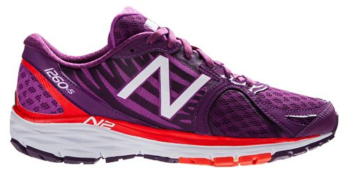 Womens New Balance 1260v5 Running Shoe - Purple/Orange 6.5