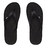 Mens Under Armour Atlantic Dune T Sandals Shoe - Black/Grey 10