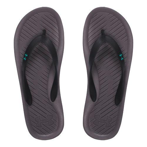 Mens Under Armour Atlantic Dune T Sandals Shoe - Graphite/Neptune 9