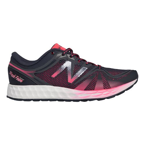 Womens New Balance Fresh Foam 822v2 Trainer Cross Training Shoe - Black/Pink 7