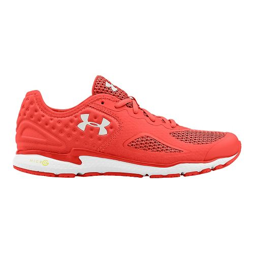 Womens Under Armour Micro G Mantis 2 Running Shoe - After Burn/White 6