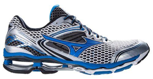 Mens Mizuno Wave Creation 17 Running Shoe - Silver/Blue 7.5