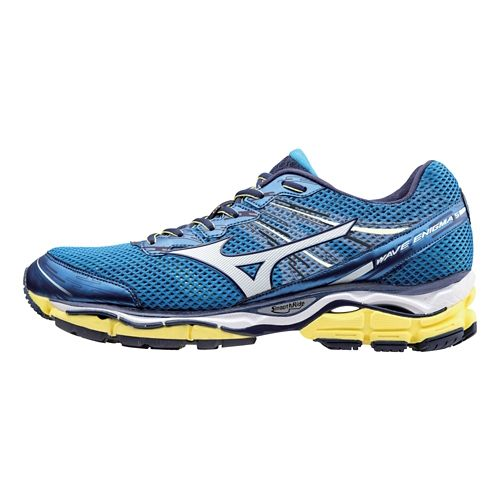 Mens Mizuno Wave Enigma 5 Running Shoe - Electric Blue/Bolt 8