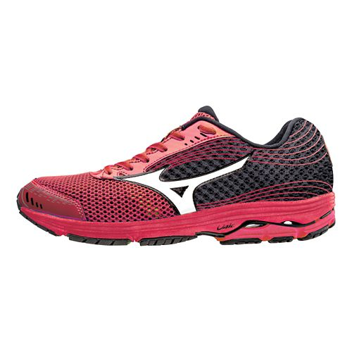 Mens Mizuno Wave Sayonara 3 Running Shoe - Shin Red/White 10