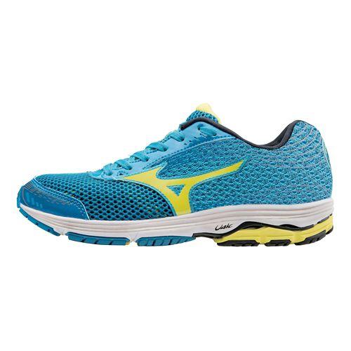 Womens Mizuno Wave Sayonara 3 Running Shoe - Blue Danube/Bolt 10.5