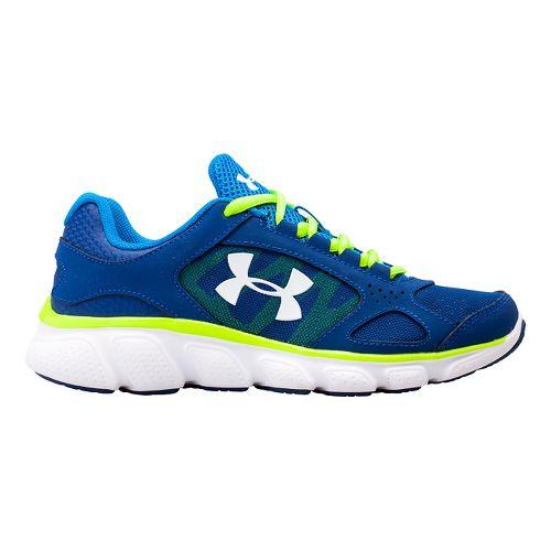 Kids Under Armour BPS Assert V Running Shoe - Blue/Snorkel 11.5