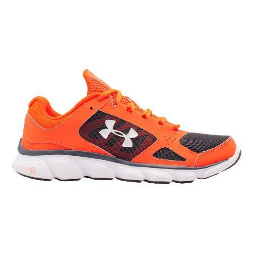Womens Under Armour Micro G Assert V Running Shoe - After Burn/Graphite 6.5
