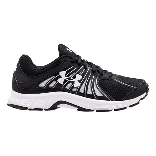 Womens Under Armour Dash RN Running Shoe - Black/Black 8