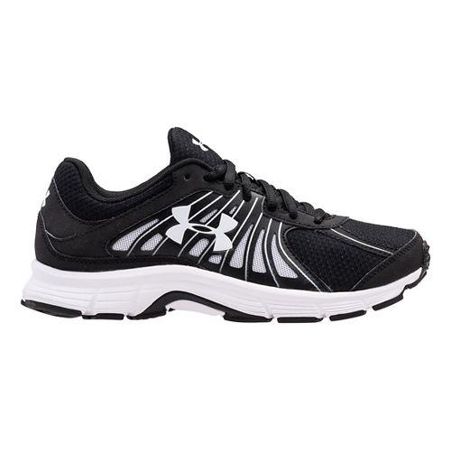 Womens Under Armour Dash RN Running Shoe - Black/Black 9