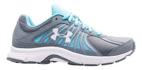 Womens Under Armour Dash RN Running Shoe - Steel/Sky Blue 10