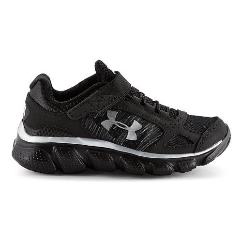 Kids Under Armour BPS Assert V AC Running Shoe - Black/Black 3
