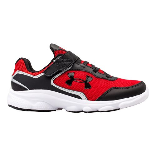 Kids Under Armour BPS Escape Run AC Running Shoe - Red/White 13