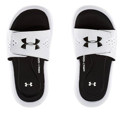 Under Armour Ignite IV SL Sandals Shoe - White 4Y