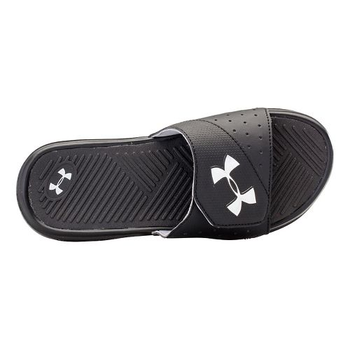 Kids Under Armour Playmaker V SL Sandals Shoe - Black 2Y