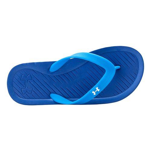 Kids Under Armour Atlantic Dune T Sandals Shoe - Blue/Snorkel 4