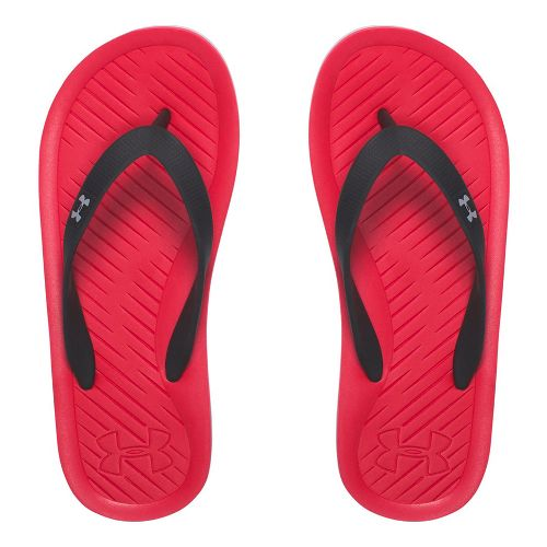 Under Armour Atlantic Dune T Sandals Shoe - Red/Black/Grey 5Y