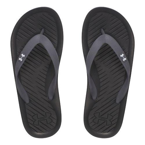 Kids Under Armour Atlantic Dune T Sandals Shoe - Red/Black 6
