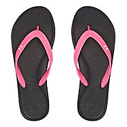 Womens Under Armour Atlantic Dune T Sandals Shoe - Black/Cerise 10