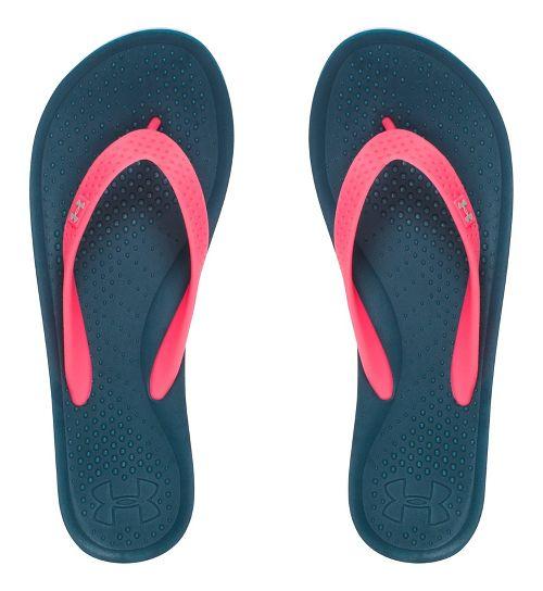 Womens Under Armour Atlantic Dune T Sandals Shoe - Marlin Blue 8