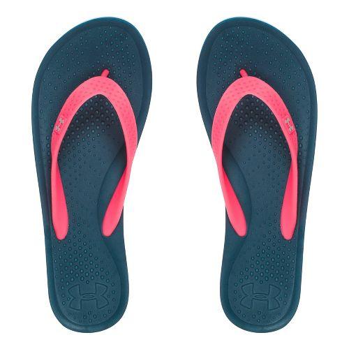 Womens Under Armour Atlantic Dune T Sandals Shoe - Black 9