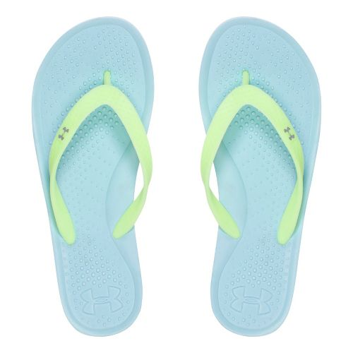 Womens Under Armour Atlantic Dune T Sandals Shoe - Opal Blue 10