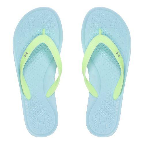 Womens Under Armour Atlantic Dune T Sandals Shoe - Opal Blue 11