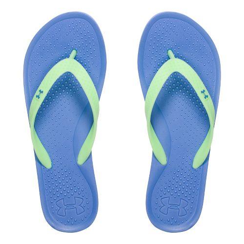 Womens Under Armour Atlantic Dune T Sandals Shoe - Water 10
