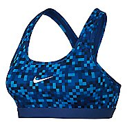 Womens Nike Pro Classic Glitch Sports Bra