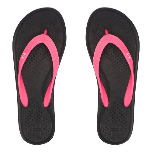 Under Armour Atlantic Dune T Sandals Shoe - Black/Pink 3Y