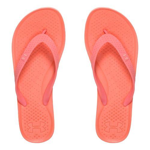 Under Armour Atlantic Dune T Sandals Shoe - Orange/Peach 3Y