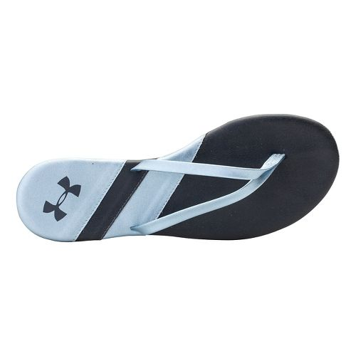 Womens Under Armour LakeShore DR T Sandals Shoe - Lead 8
