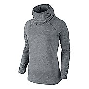 Womens Nike Element Hoody Long Sleeve No Zip Technical Tops
