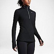 Womens Nike Element Long Sleeve Half Zip & Hoodies Technical Tops