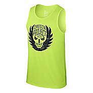 Mens Nike Oregon Project Tanks Technical Tops
