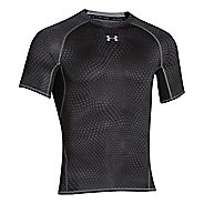 Mens Under Armour HeatGear Compression Printed T Short Sleeve Technical Tops