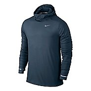 Mens Nike Dri-FIT Element Hoodie Long Sleeve Hooded Technical Tops