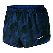 """Mens Nike 2"""" Printed Racer Lined Shorts"""