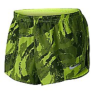 "Mens Nike 2"" Printed Racer Lined Shorts"