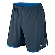 "Mens Nike 7"" Phenom 2-in-1 Shorts"