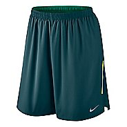 "Mens Nike Phenom 2-in-1 9"" Compression & Fitted Shorts"
