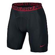 "Mens Nike Hypercool Compression 6"" Unlined Shorts"