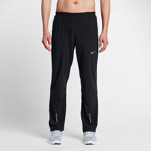 Mens Nike Dri-FIT Stretch Woven Full Length Pants - Black S