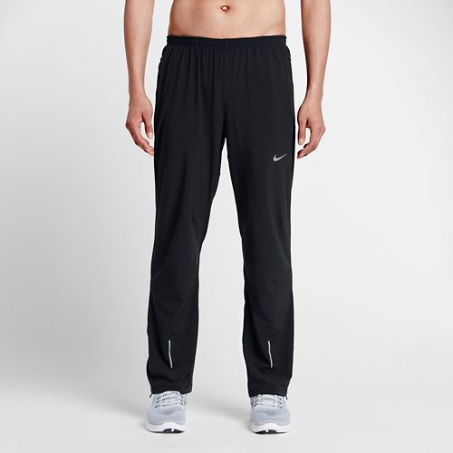 Mens Nike Dri-FIT Stretch Woven Full Length Pants - Black S