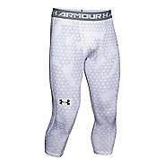 Mens Under Armour HeatGear 3/4 Printed Legging Capris Pants