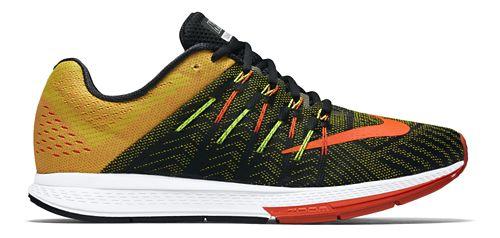 Mens Nike Air Zoom Elite 8 Running Shoe - Black/Yellow 8